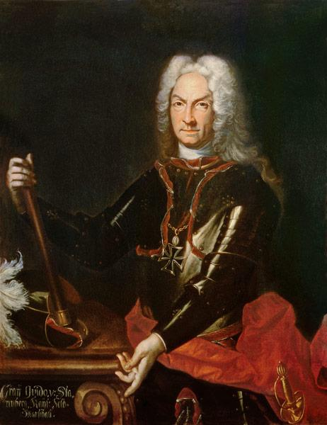 Field Marshall Count Guidobald von Starhemberg (1654-1737), Austrian military commander in Spain dur