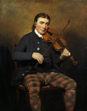 Portrait of the Violinist and composer Niel Gow (1727-1807)