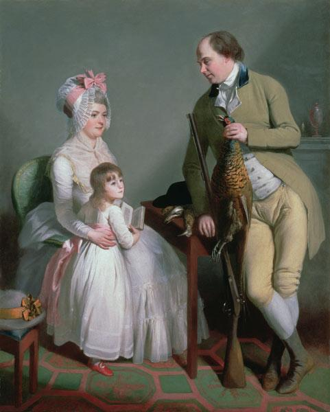 Mr and Mrs Custance of Norwich and their Daughter Frances