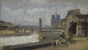 The Pont de la Tournelle, Paris