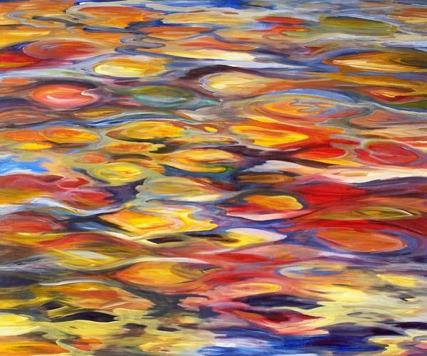 Collezione di dipinti e riproduzioni sul tema dell autunno