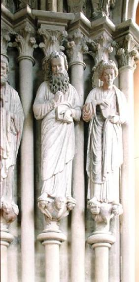 Jamb figures from the south portal