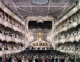 Covent Garden Theatre, 1808, from ''Ackermann''s Microcosm of London'' ; engraved by J. Bluck (fl.17