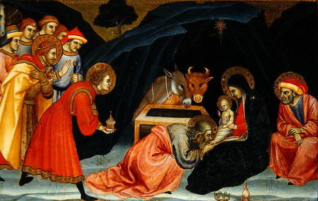 The adoration of the magi oil o taddeo di for Di bartolo arredamenti srl