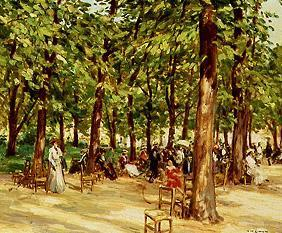 Afternoon in the Jardin you Luxembourg