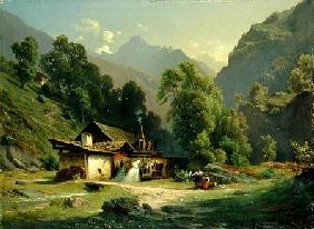 Blacksmith's House in a Valley