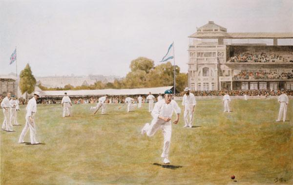Cricket At Lords