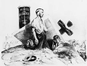 July Revolution 1830/ Daumier cartoon