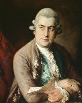 Portrait of Johann Christian Bach (1735-1782)