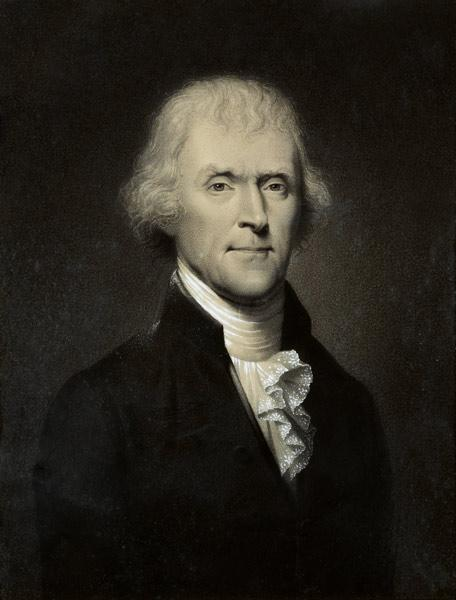 Thomas Jefferson / Bouch aft.R.Peale