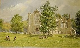 Bolton Abbey, 1988 (w/c)