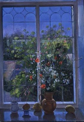 Summer Flowers at Dusk, 1990