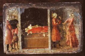 Life of St. Julian, predella fragment (tempera on panel)