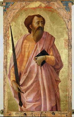 St. Paul, 1426 (tempera on panel)