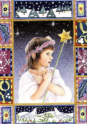 Child with Star (w/c)