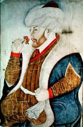 Portrait of Sultan Mehmet II (1432-81)