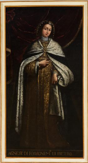 Agnes of Faucigny, wife of Peter II, Count of Savoy