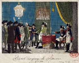 Frederick the Great as Freemason in 1740