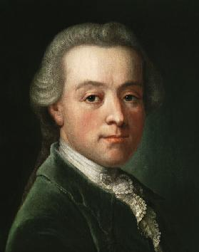 Portrait of the composer Wolfgang Amadeus Mozart (1756-1791)