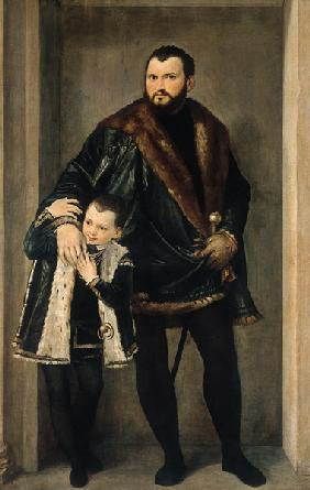 Giuseppe da Porto and his Son