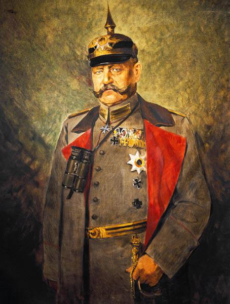 General Paul von Hindenburg, c.1916