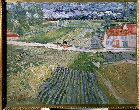 Landscape at Auvers after rain