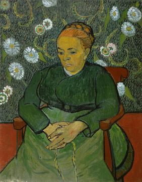 Portrait of Madame Roulin (La Berceuse)