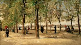 Van Gogh, Lane at Jardin du Luxembourg