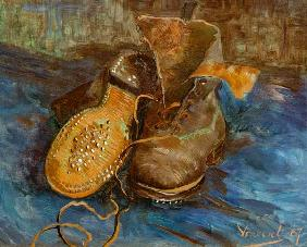 V.van Gogh / A Pair of Shoes / 1887