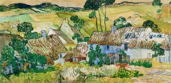 V.van Gogh, Farms near Auvers / Paint.