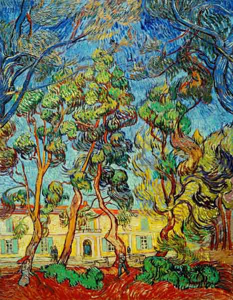 V.van Gogh, Hospital at Saint-Rémy