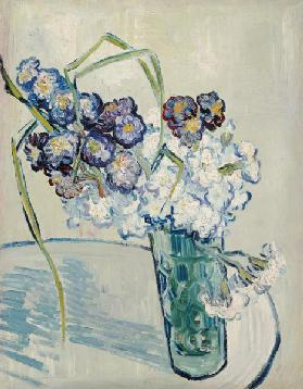 Still Life, Vase of Carnations, June 1890