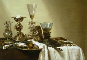 Still Life with Oysters and Nuts