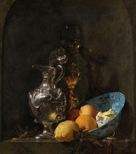 Still Life with Silver Jug