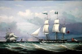 Ship Helen of 330 Tons Register Built at Greenock in 1819