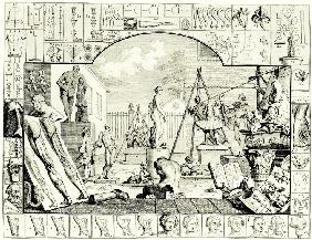 "Illustration for ""The Analysis of Beauty"""