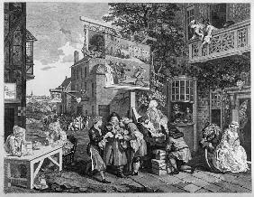 The Election II: Canvassing for Votes; engraved by Charles Grignion (1717-1810) 1757 (see also 1997)