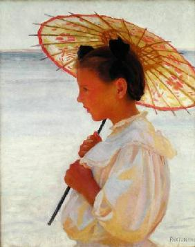 Girl with a Chinese Parasol