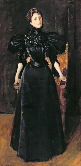 Portrait of a Lady in Black
