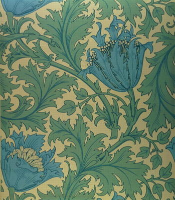 39 anemone 39 design textile william morris riproduzione for Riproduzioni design