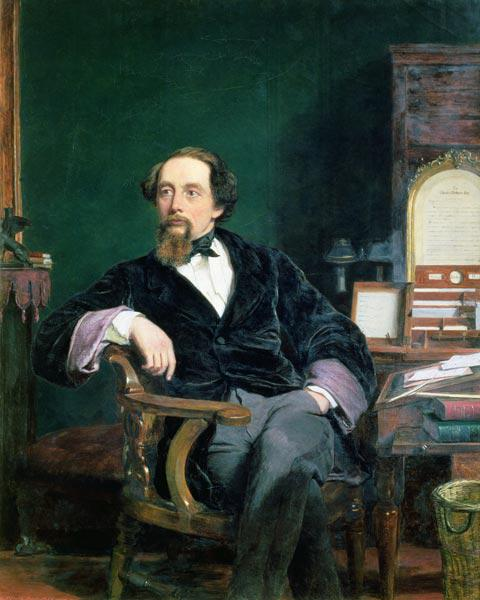 Portrait of Charles Dickens