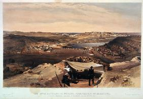 The town batteries, or interior fortifications of Sevastopol on 23 June 1855