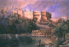 The Fort at Amber, Rajasthan