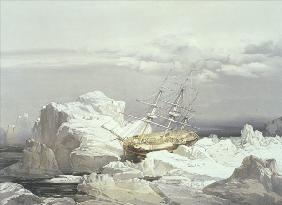 Critical Position of H.M.S Investigator on the North Coast of Baring Island